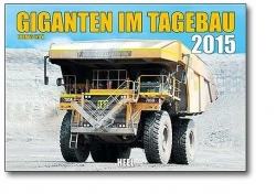 Kalender 2015 Giganten im Tagebau