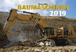 Kalender Baumaschinen 2019