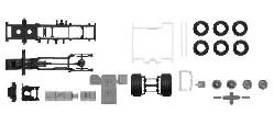 TS Fahrgestell Scania CS 20 1:87