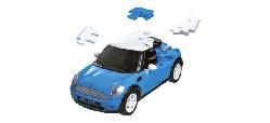 3D Mini Cooper std. ``blau``, 1:32