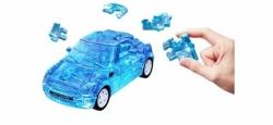 3D Mini Cooper transp. ``blau``, 1:32