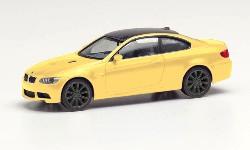 BMW M3 Coupé, dakargelb 1:87