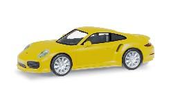 Porsche 911 Turbo, racinggelb; 1:87