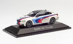 BMW M4 Coupé Safety Car, weiß; 1:43