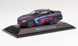 BMW M4 Coupé Safety Car,schwar; 1:43