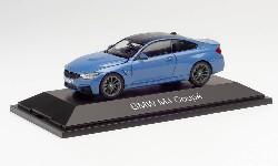 BMW M4 Coupé, laguna seca blau; 1:43