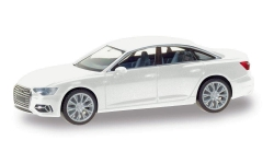 Audi A6 Limousine, ibisweiß; 1:87