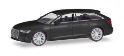 Audi A6 Avant, brillantschwarz 1:87