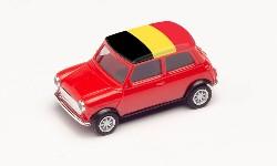 Mini Cooper EM 2021,Belgien; 1:87