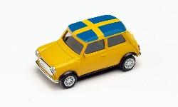 Mini Cooper EM 2021,Schweden; 1:87