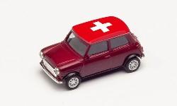 Mini Cooper EM 2021,Schweiz; 1:87