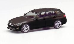 BMW 3er Touring, brillantschwarz 1:87