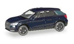 Audi Q2 Bl. Edit. brillant sch; 1:87
