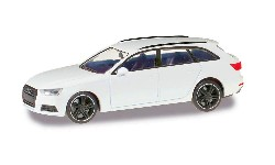 Audi A4 Avant Bl. Edit. alpinw; 1:87