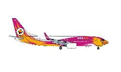 B737-800 Nok Air pink; 1:500