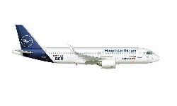 A320neo Lufthansa BER; 1:500