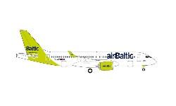A220-300 airBaltic 100th A220; 1:500