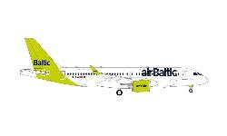 A220-300 airBaltic 100th A220; 1:400
