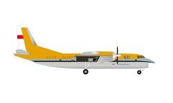 AN-24B Aeroflot LeBourget 1969; 1:200