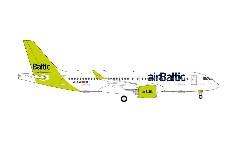 A220-300 airBaltic 100th A220; 1:200