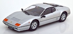 Ferrari 512 B Bj 1981 silver  1:18