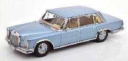 Mercedes 600 SWB W100 lightblue-met.1:18