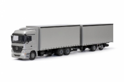 MB Actros 6x4 LS Volumenkombination 1:50