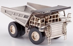 CAT 777D Off Highway Truck silber 1:50