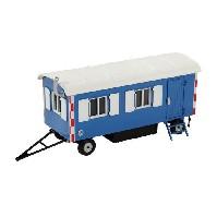 Bauwagen, ``himmelblau RAL 5015``;1:50