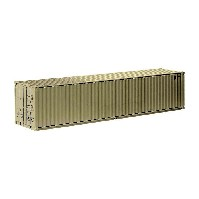 40 Ft See-Container, ``cremeweiß``;1:50