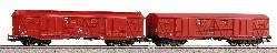 2er Set ged. Güterwagen 401Ka Gags-t + 4