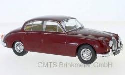 Jaguar MK II, dunkelrot, 1960  1:24