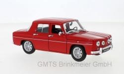 Renault R8 Gordini, rot  1:24