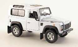 Land Rover Defender, weiss  1:24