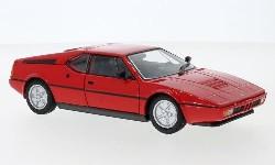 BMW M1, rot, 1978  1:24