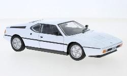 BMW M1, weiss, 1978  1:24