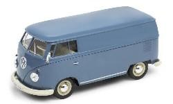 VW T1 Bulli Kasten, blau, 1963.  1:24