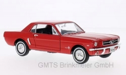 Ford Mustang Coupe, rot, 1964  1:24