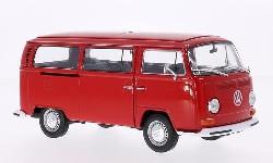 VW T2 Bus, rot, 1972 1:24