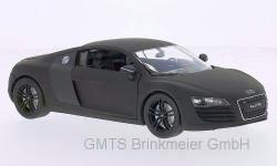 Audi R8 V10 Coupe, matt-schwarz/car.1:24