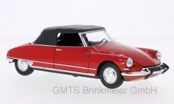 Citroen DS 19 Cabriolet, rot, gesch 1:24