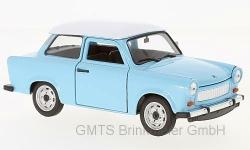 Trabant 601 hellblau/weiß  1:24