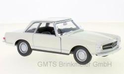 Mercedes 230 SL,(W113) weiss, 1963 1:24