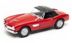 BMW 507, rot, Verdeck geschl 1:24