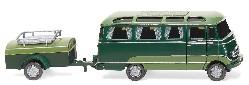 Panoramabus mit Anhänger (MB O319) 1:87