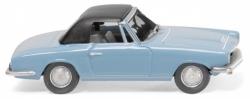 BMW 1600 GT Cabrio - hellblau; 1:87