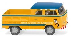 VW T2 Doppelkabine ``VW Kundendienst``1:87