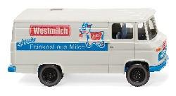 MB L 406 Kastenwagen ``Westmilch``  1:87