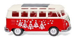 VW T1 Sambabus - Weihnachtsbulli 1:87