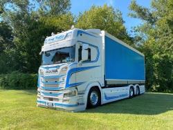 Scania CR20H 6x2 Gardinenplanenlkw 1:50